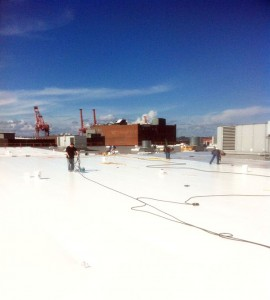 Flat Roof Replacement Seattle WA